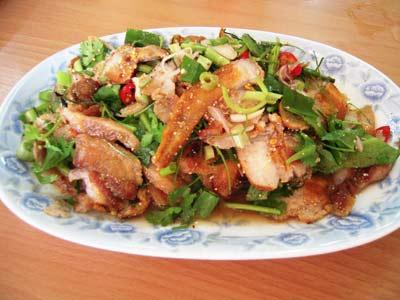Nam-Dok-Moo-pork