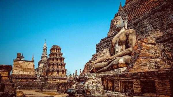 Statue Thailand Asia Buddhism Religion Buddha
